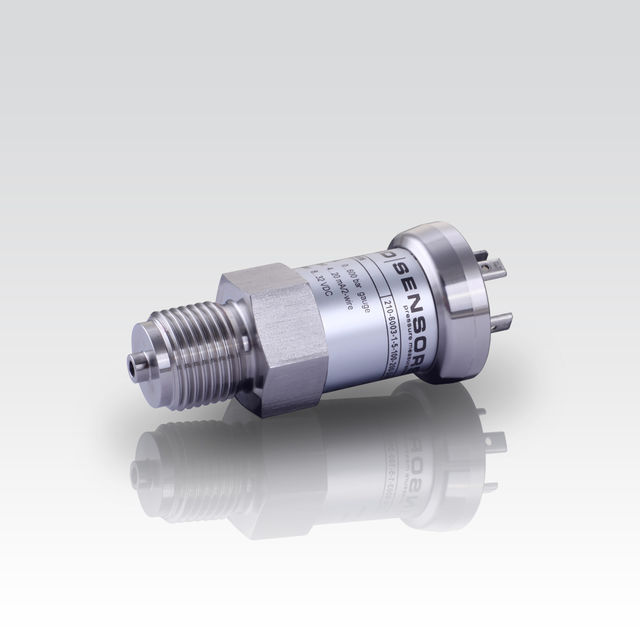 Industrial Pressure Transmitter; welded, dry Stainless Steel Sensor; suitable for oxygen applications